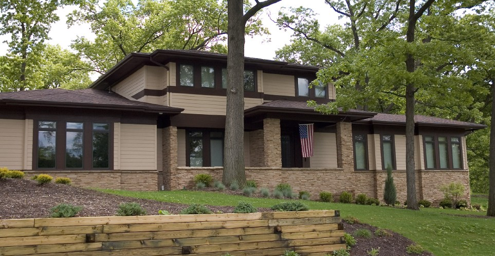 NORTHWEST CONTEMPORARY. Also Known As: Contemporary Style Home, Frank Lloyd  Wright